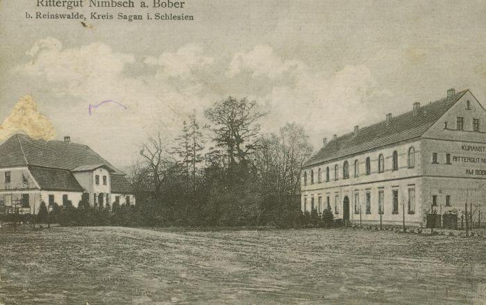 Bobrówka- zal.dworskie