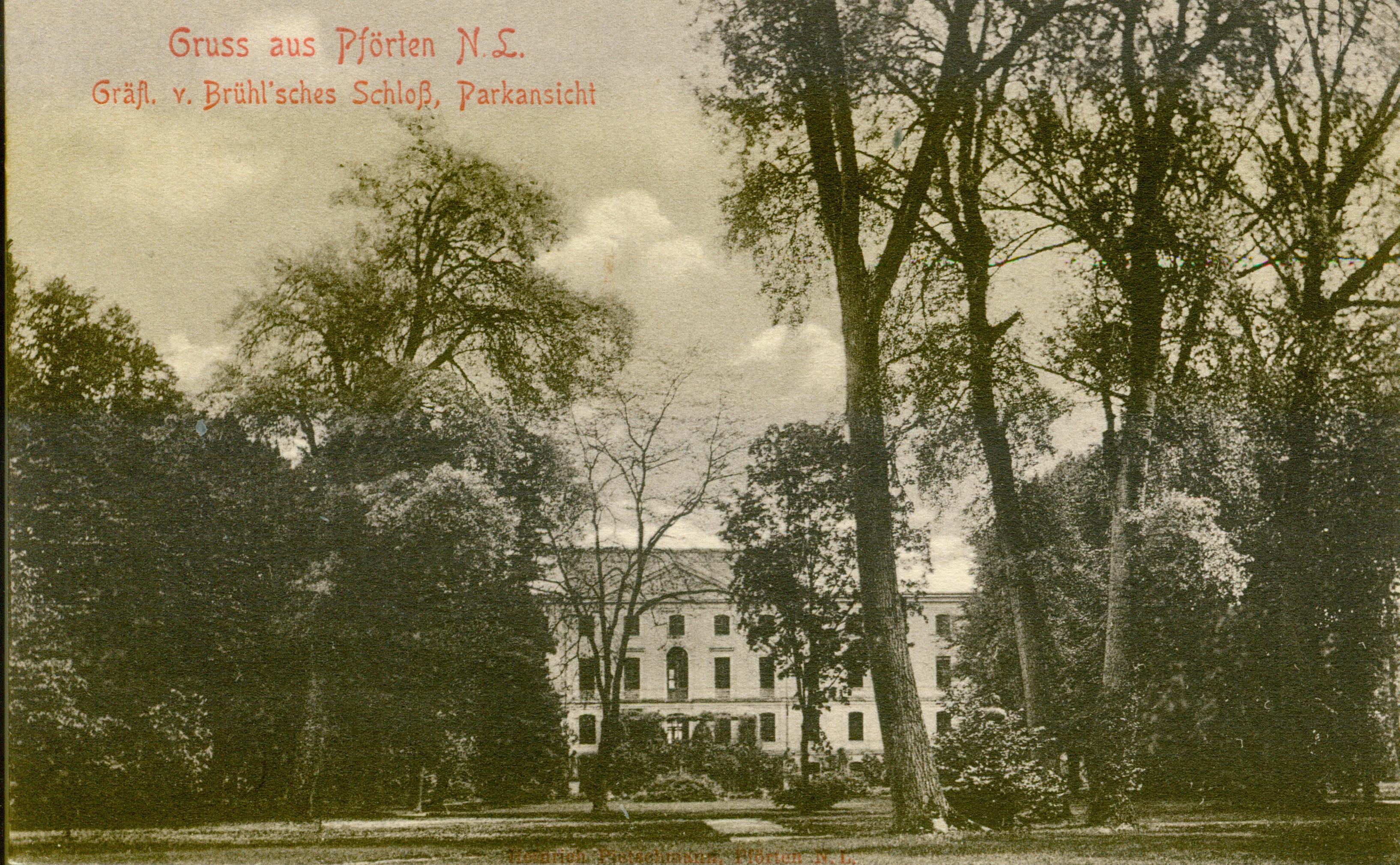Brody- pałacowe ogrody, lubuskie