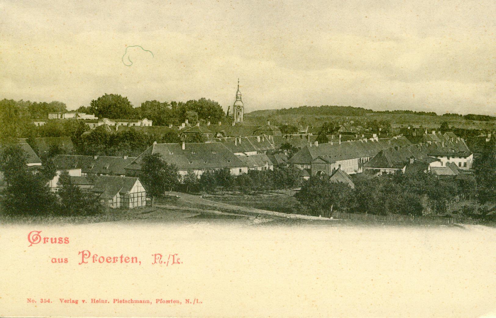 Brody-panorama wsi, lubuskie
