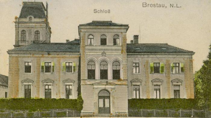 Brzostowa- palac od frontu