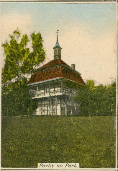 Budachow- czesc parku przydworskiego