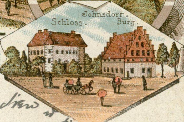 Bobrzany-Janowiec-zamek i palac