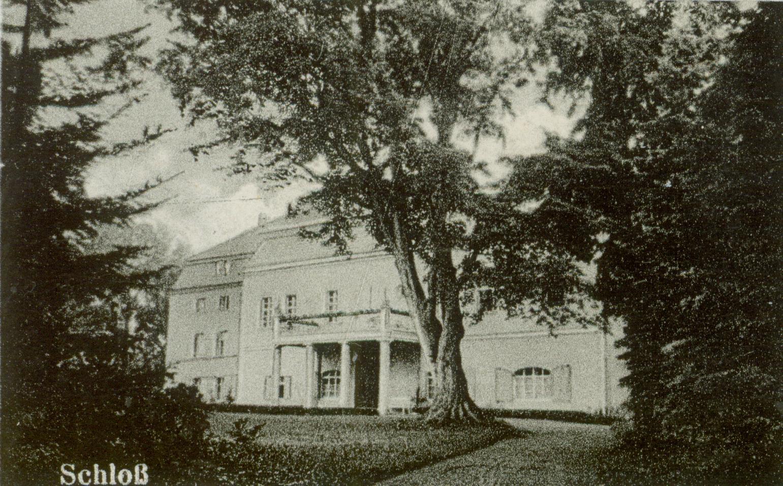 Dębinka- pałac