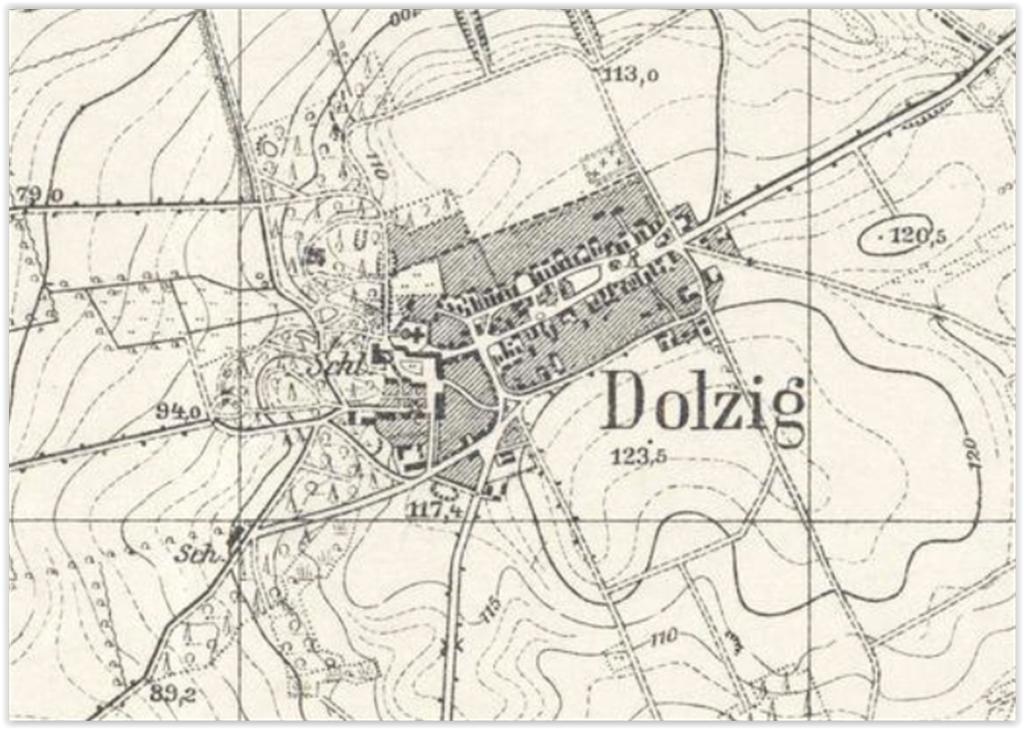 Dłużek 1939, lubuskie