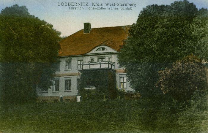 Debrznica- na pld od Torzymia, palac Hohenzollernow
