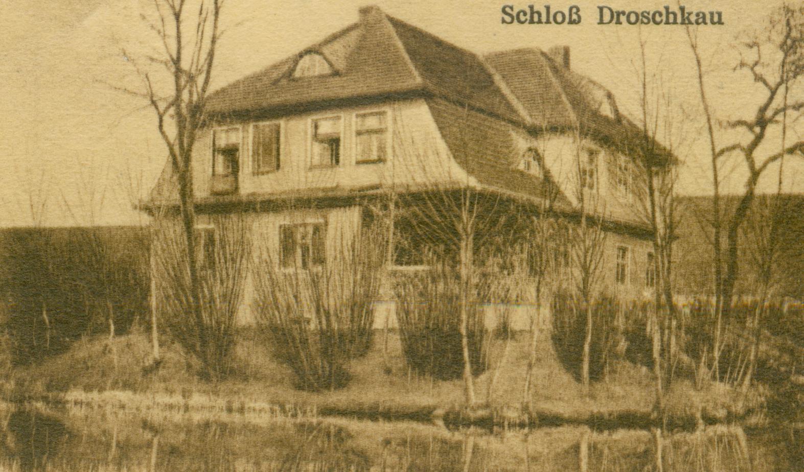 Droszków- pałac