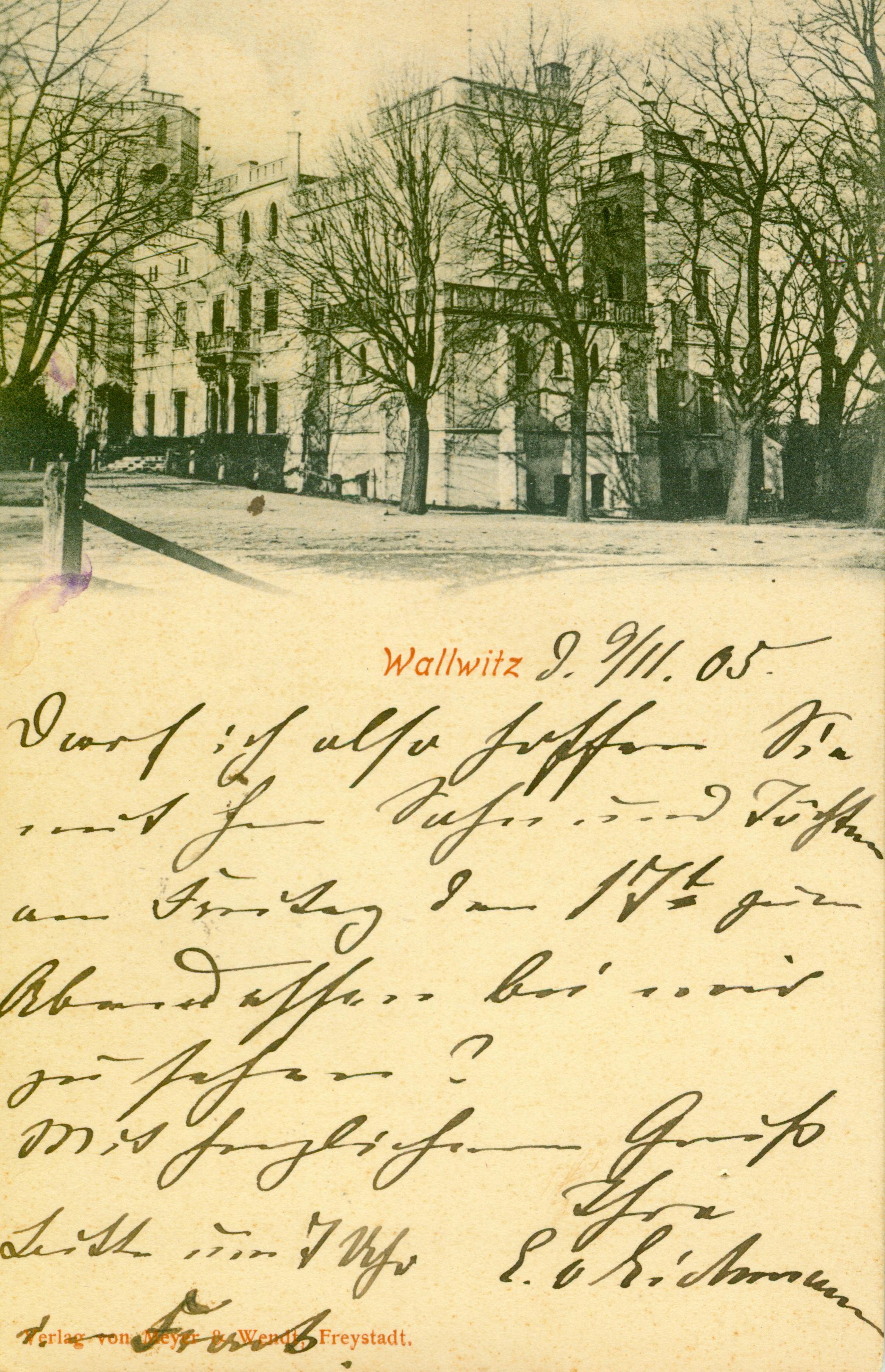 Drwalwice-pałac, lubuskie