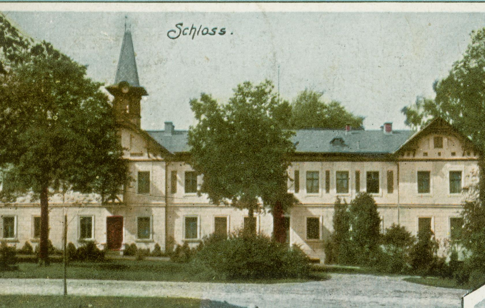 Dzietrzychowice- pałac