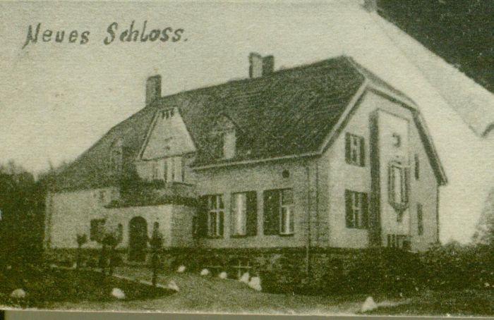 Sosny- nowy pałac