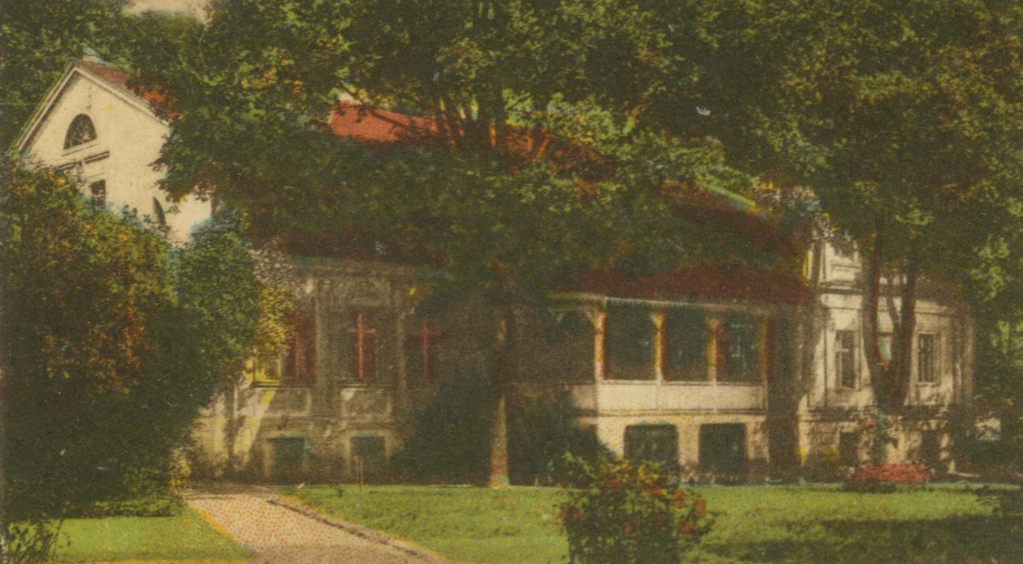 Głogusz- pałac