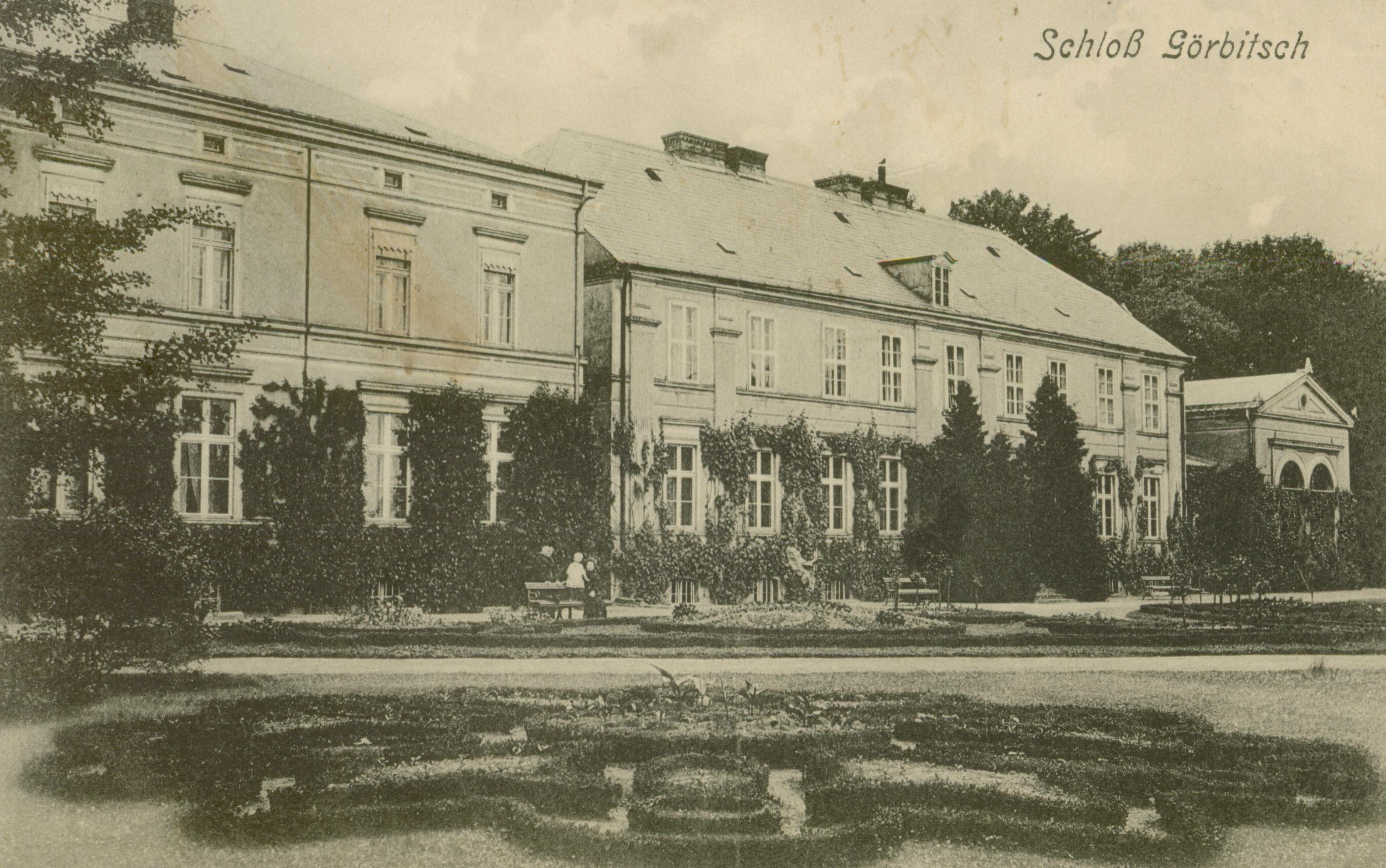 Garbicz pow. Rzepin - pałac