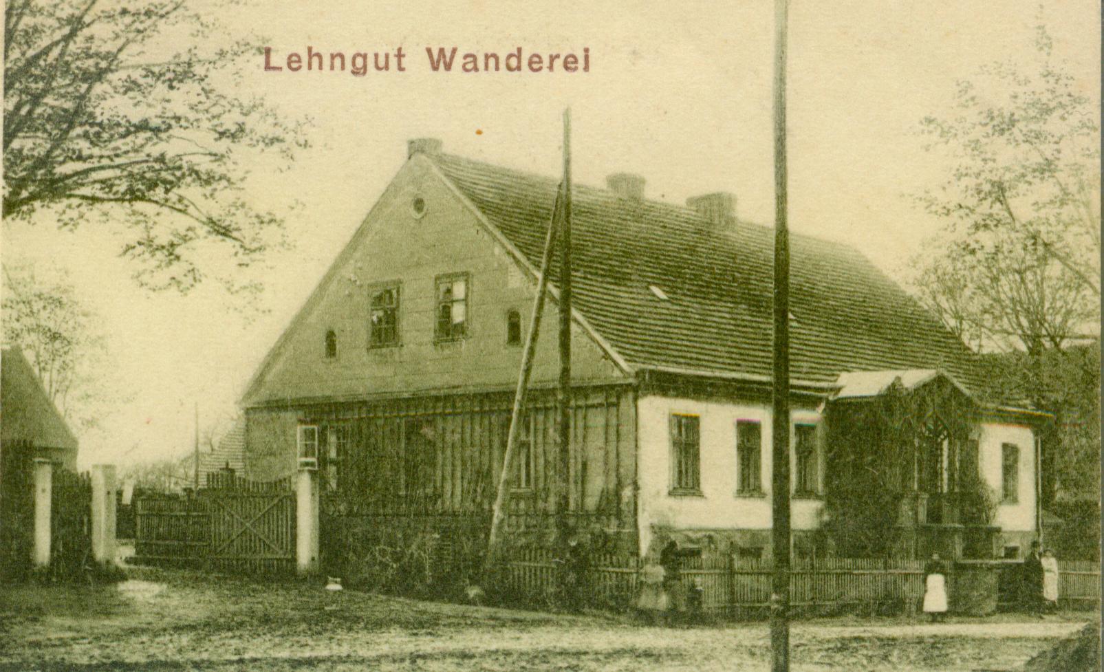 Glińsk-dwór Wanderei