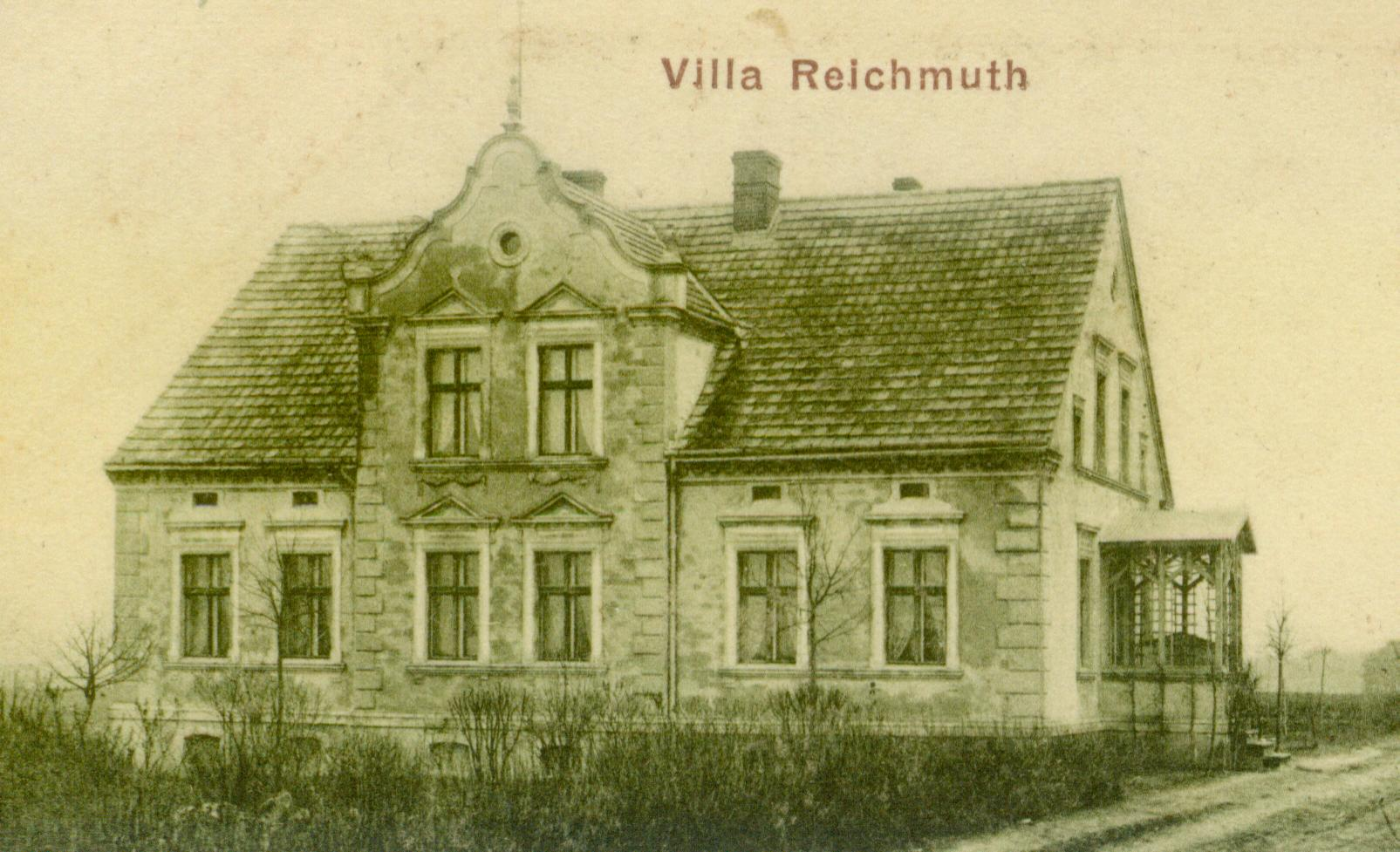 Glińsk-willa Reihmunth