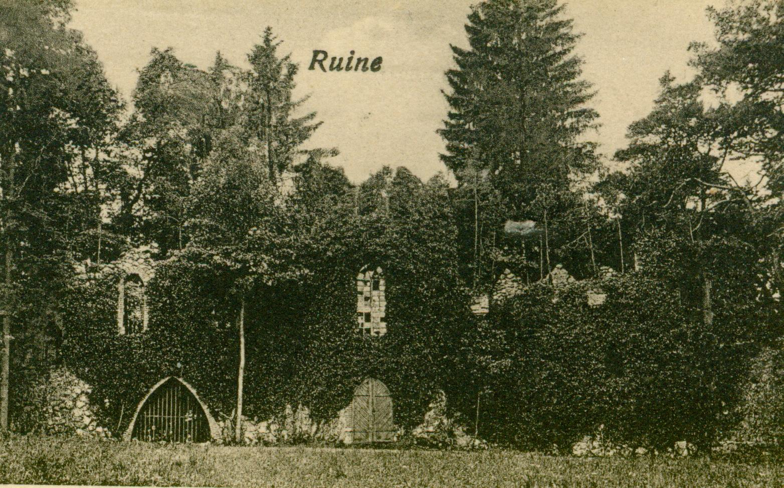 Glisno-romantyczne ruiny