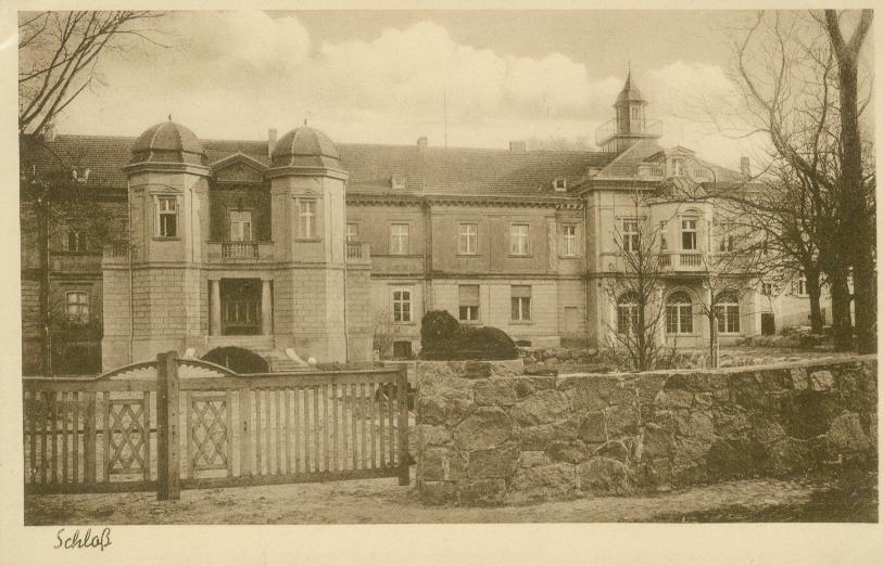 Goruńsko- ok. Bledzewa- pałac
