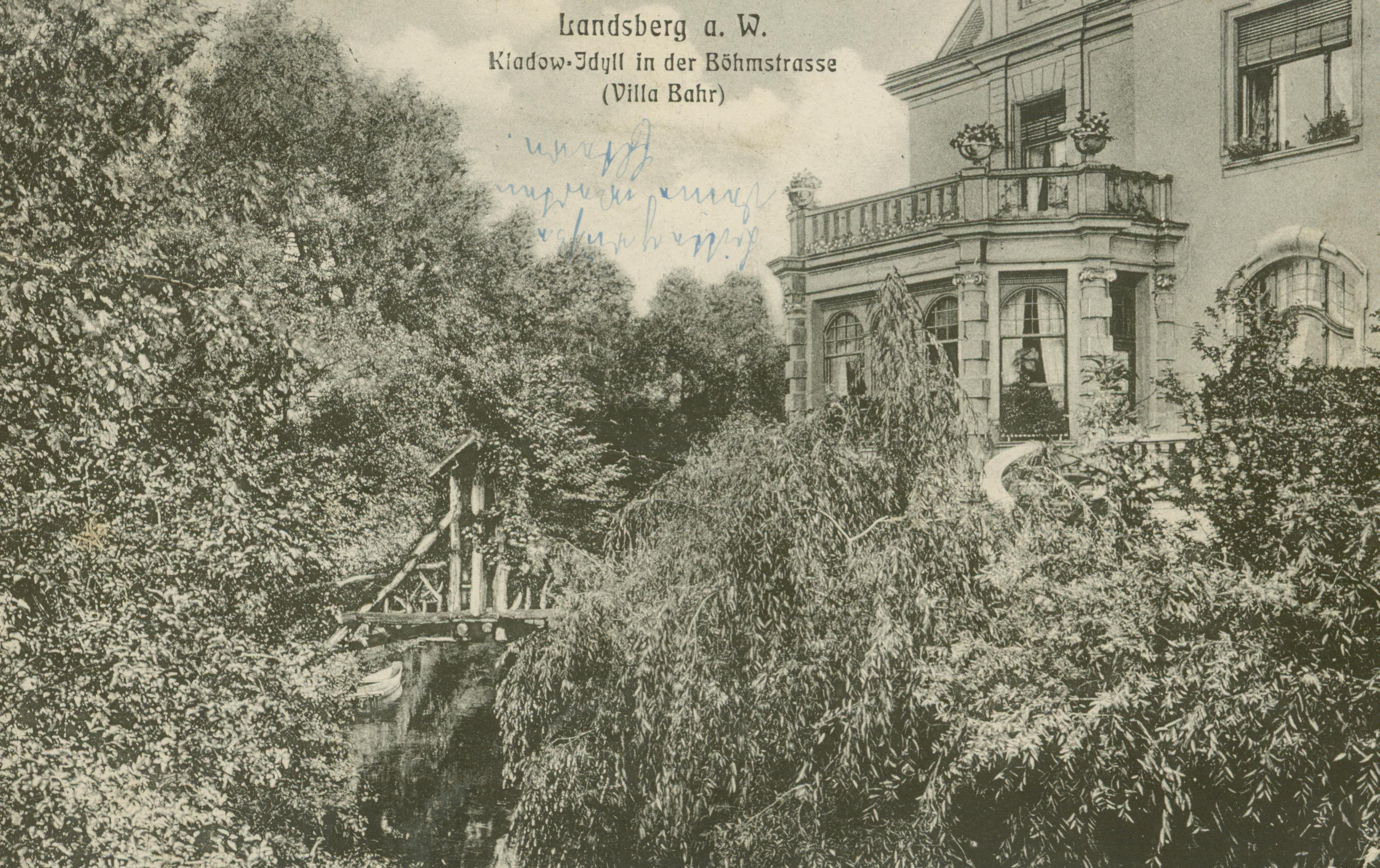 Gorzów Wlkp.- willa Bahra, obecny pałac biskupi