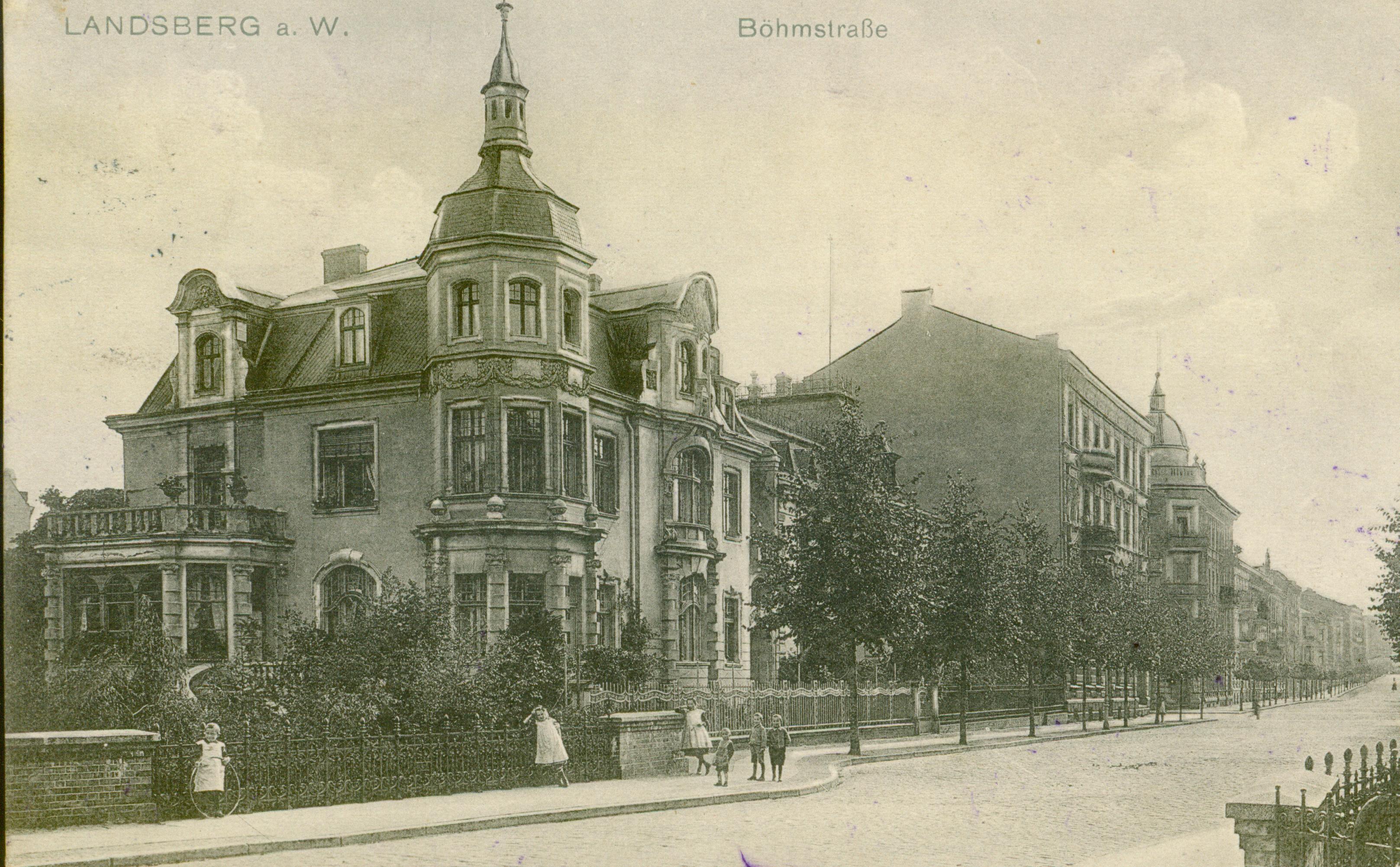 Gorzów Wlkp.- willa obecnie pałac biskupi