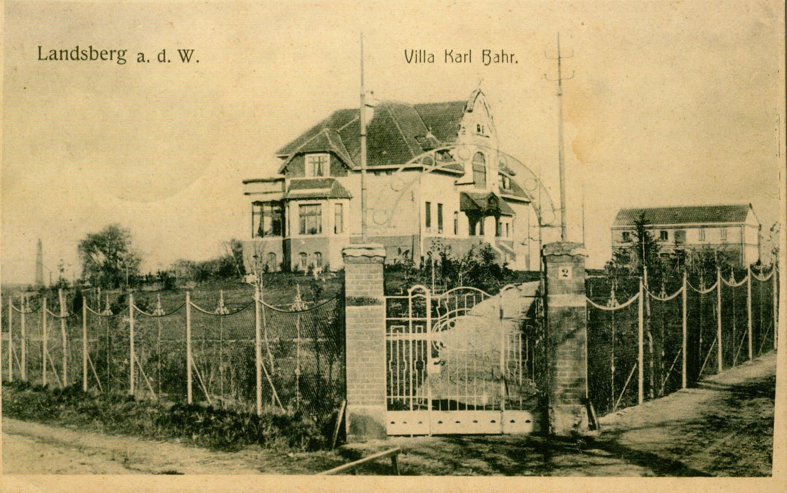 Gorzów-willa Bahra, lubuskie
