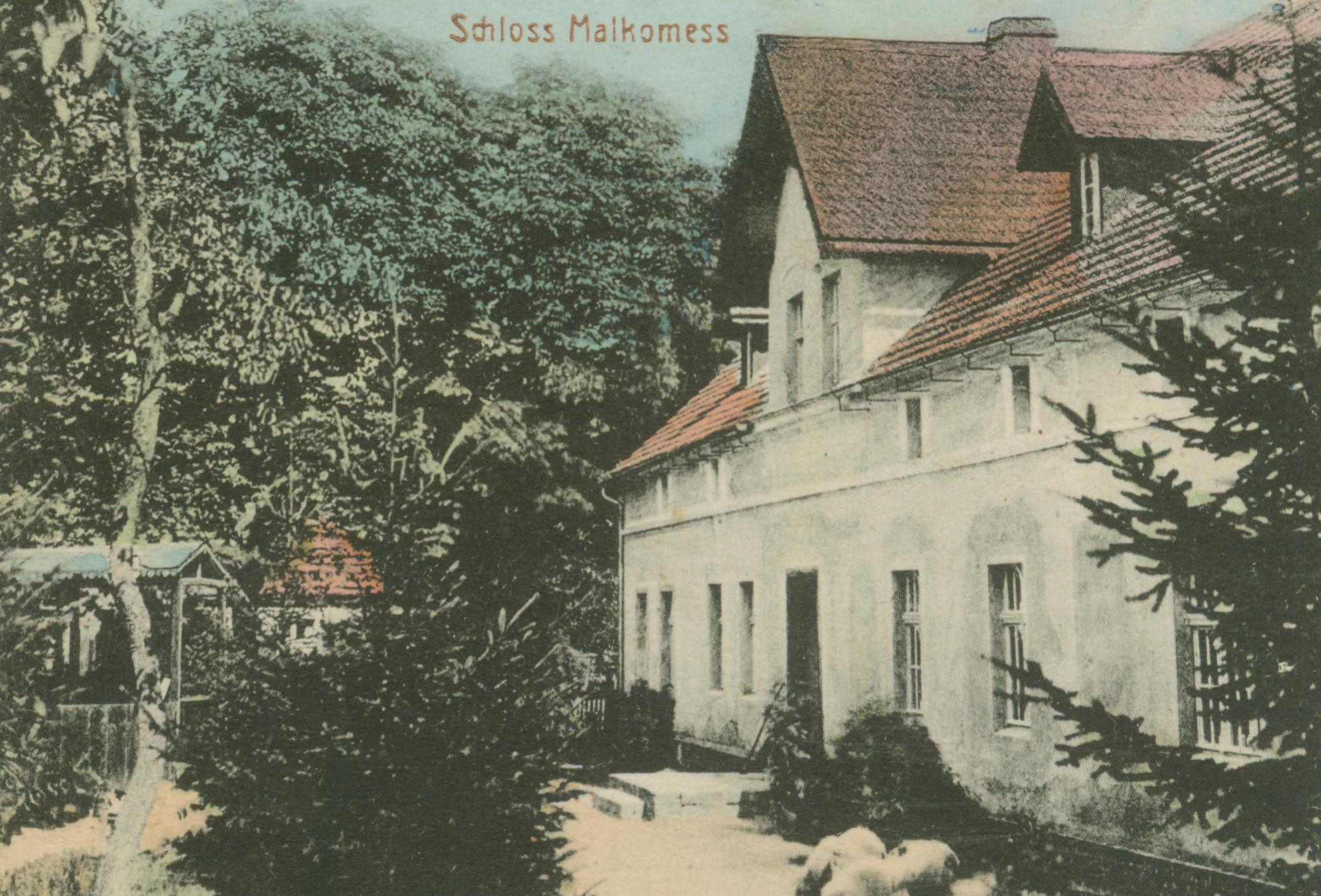 Grabowiec- pałac Malkomess