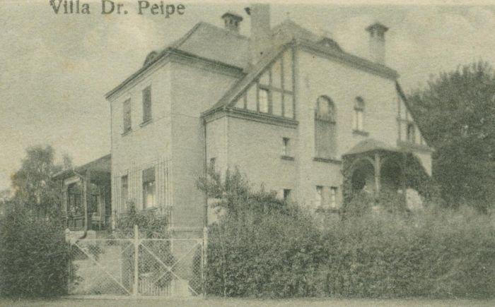 Ilowa - willa Dr Peipe