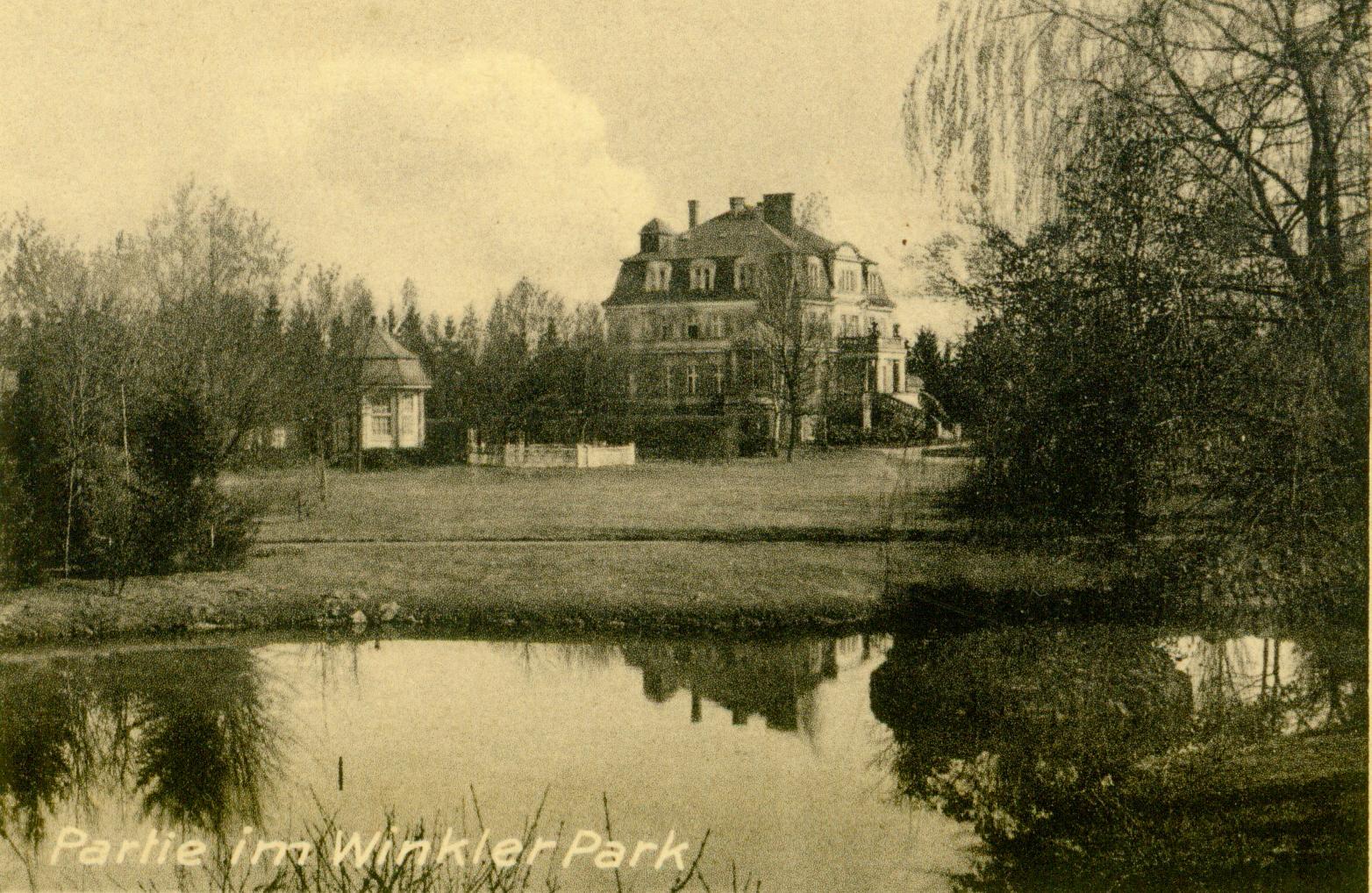 Ilowa-willa Winklera i park