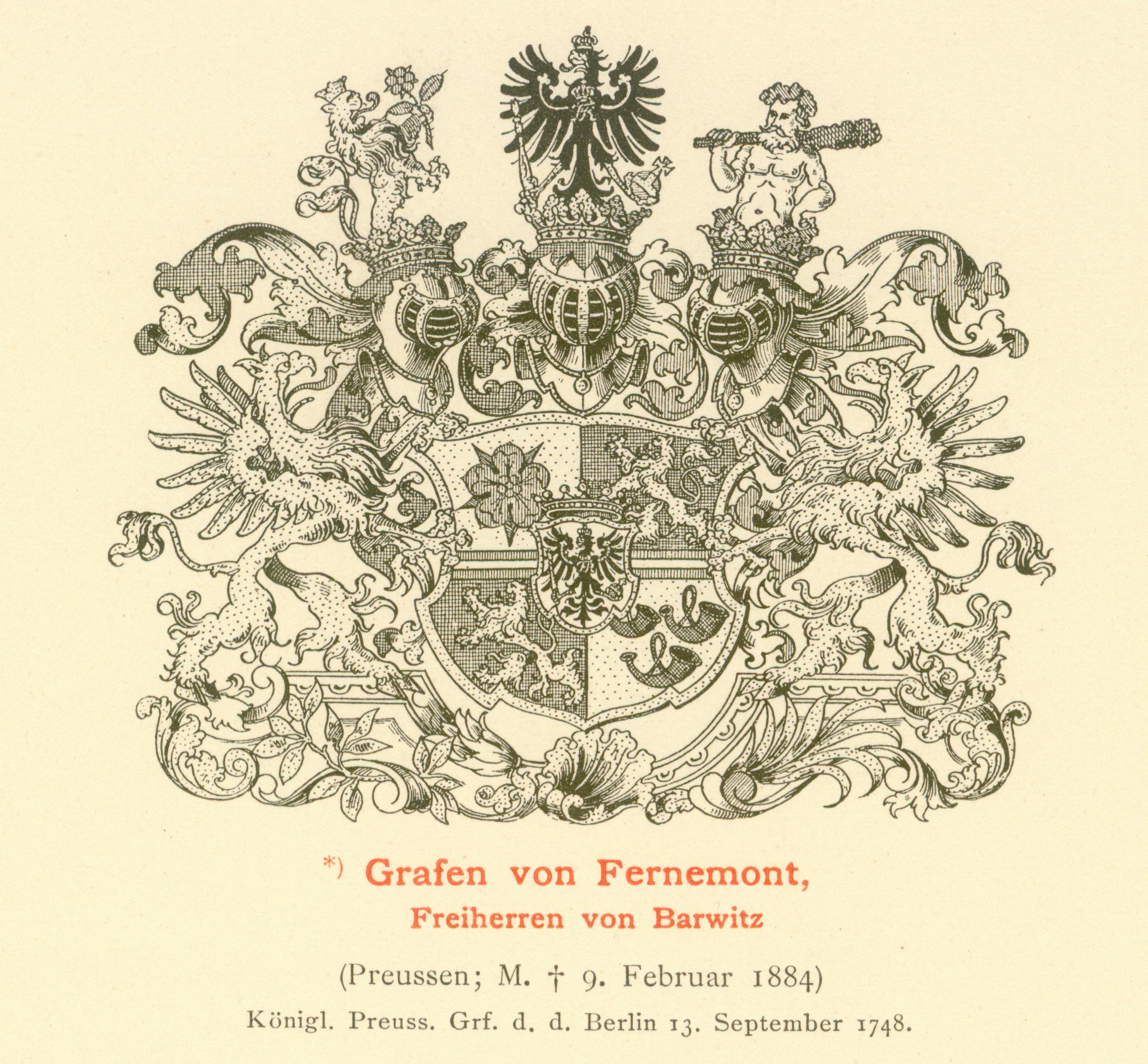 Fernemont von Barwitz