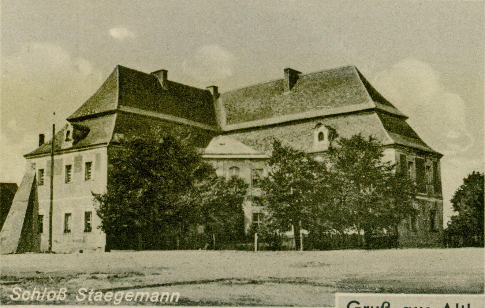 Krążkowo- pałac Staegeman`a