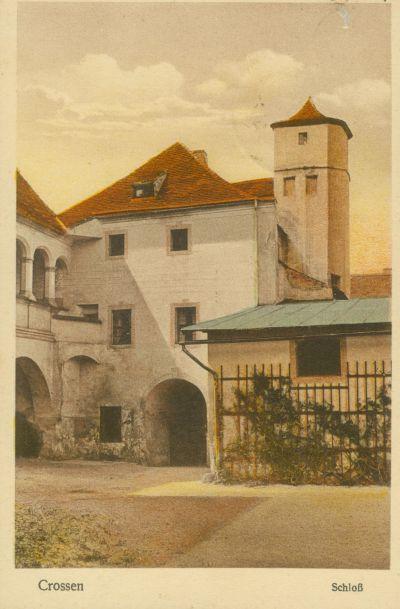 Krosno Odrzańskie wejście do zamku