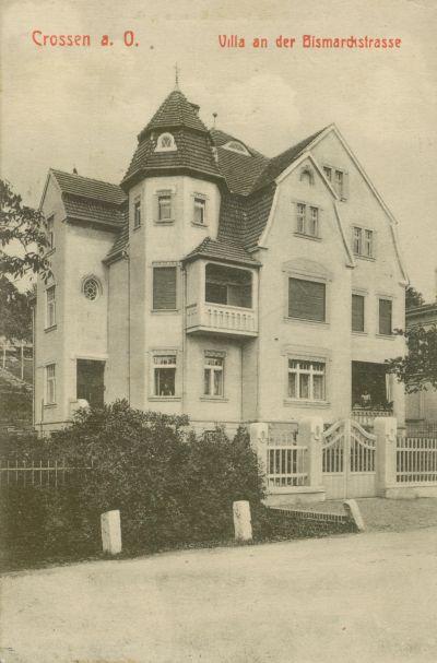 Krosno Odrzanskie- willa przy ul. Bismarcka