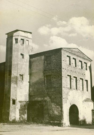 Krosno Odrzanskie-zamek lata 70-te
