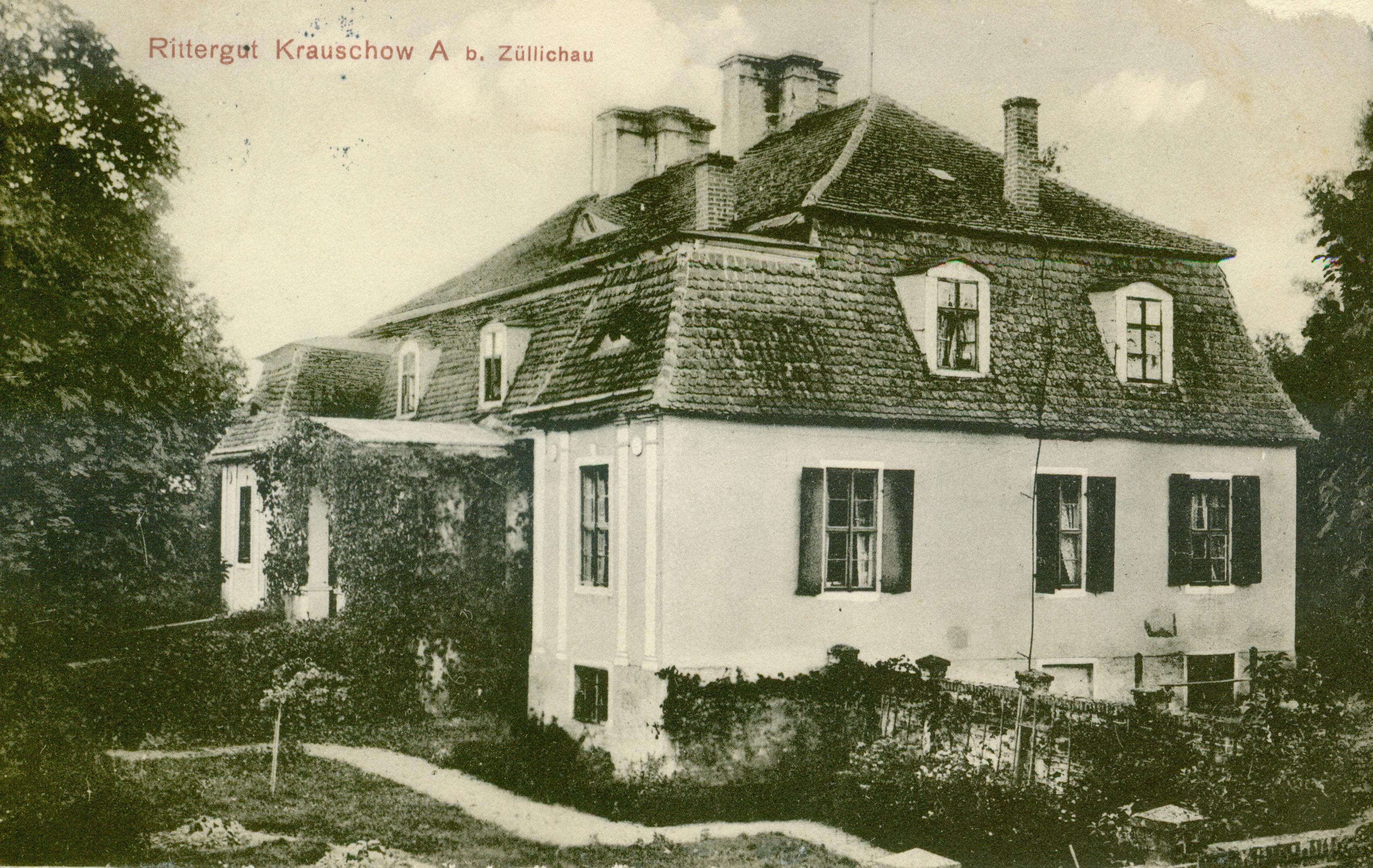 Kruszyna k. Sulechowa, lubuskie