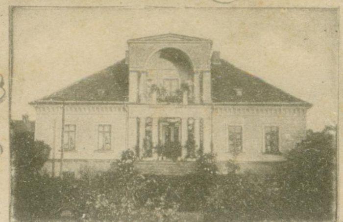 Leszno Dolne- willa Glokke
