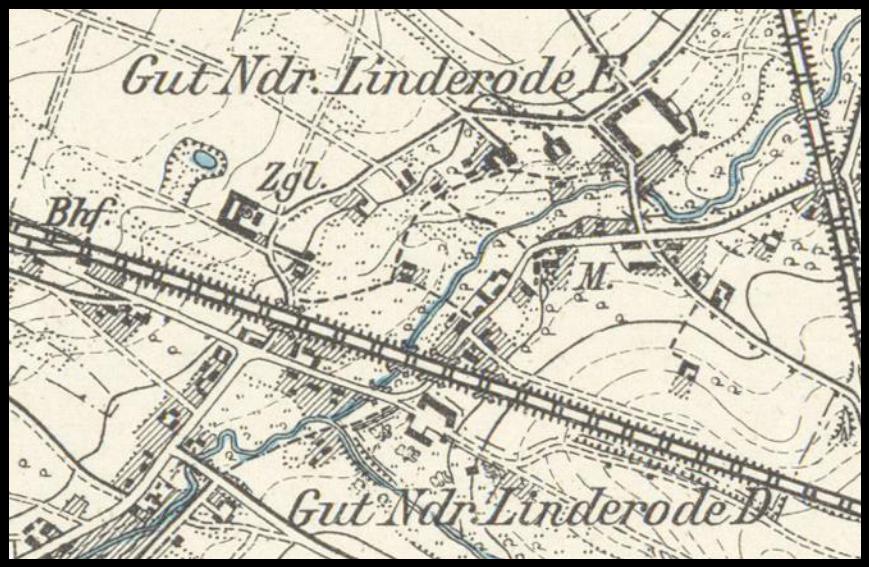 Lipinki Łużyckie D i E 1901, lubuskie