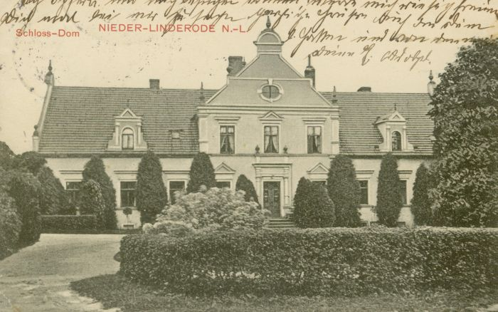 Lipinki Luzyckie- dwor