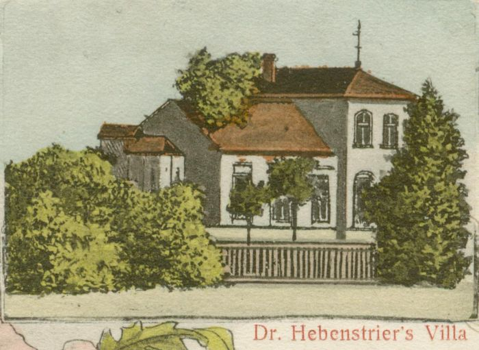Lipki Wielkie- willa Dr Hebentriera