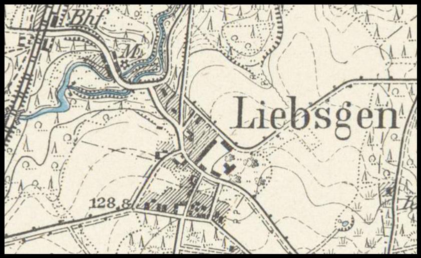 Lipsk Żarski 1901, lubuskie