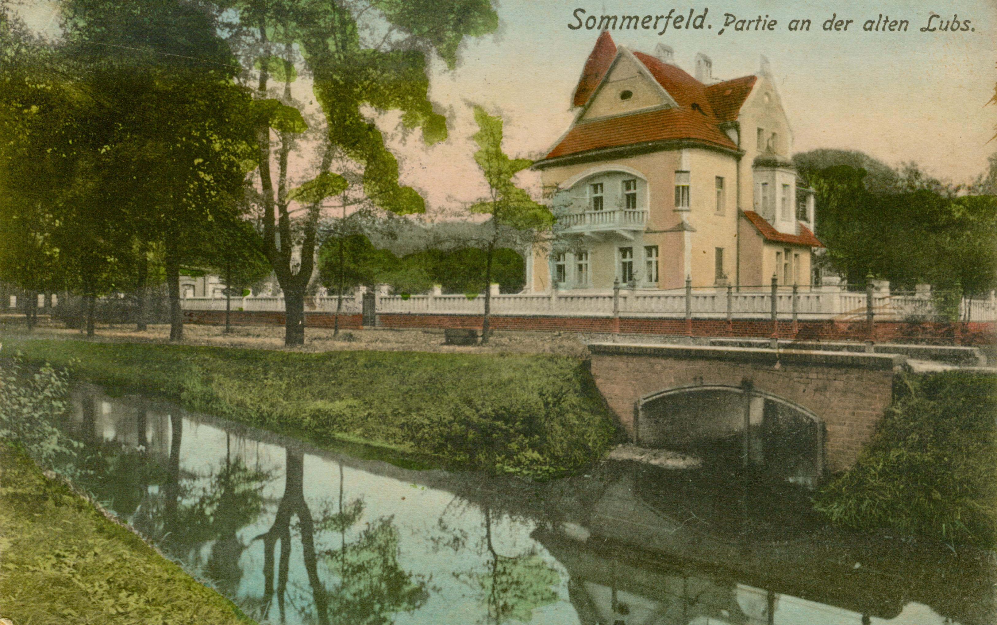 Lubsko-willa nad kanałem