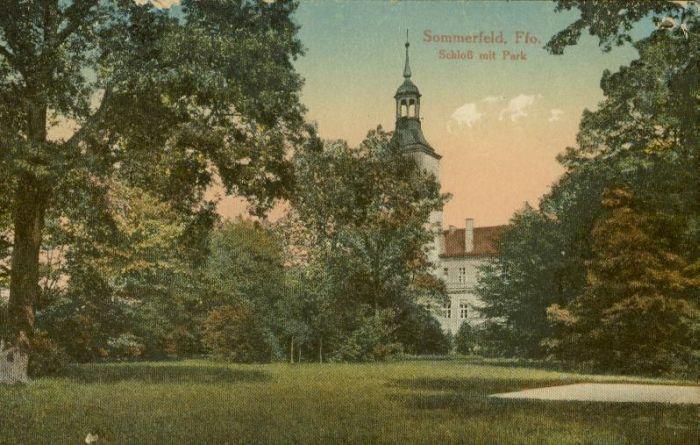 Lubsko-zamek i park