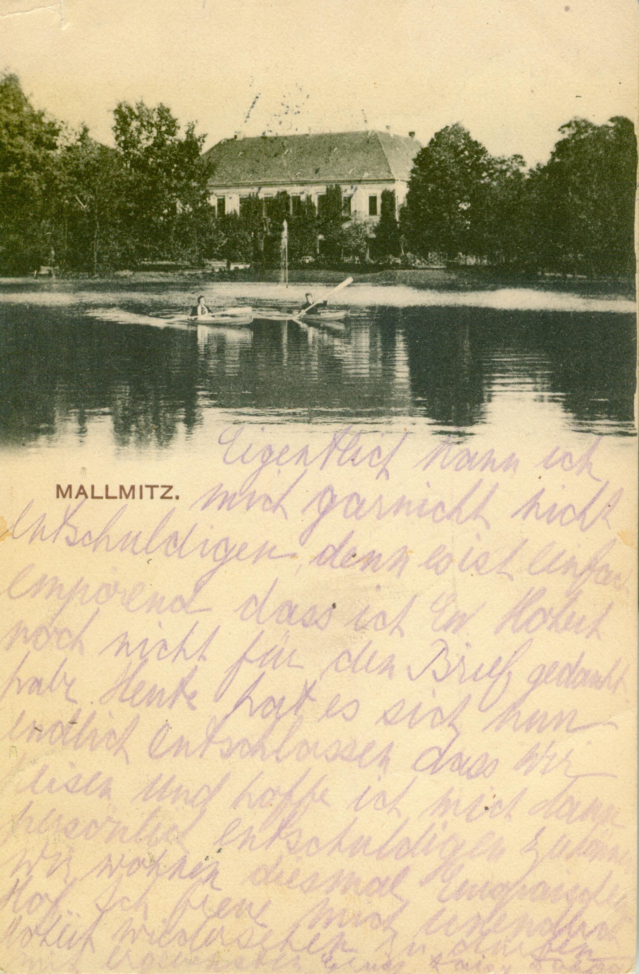 Małomice-pałac, lubuskie