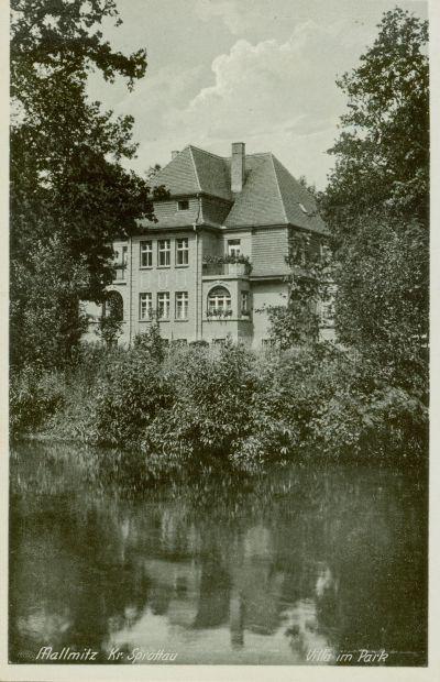 Małomice- willa w ogrodzie