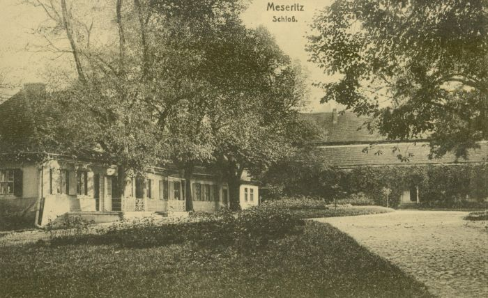 Międzyrzecz- dwor von Dembowskich