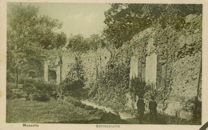 Międzyrzecz- ruiny zamku z dziedzincem