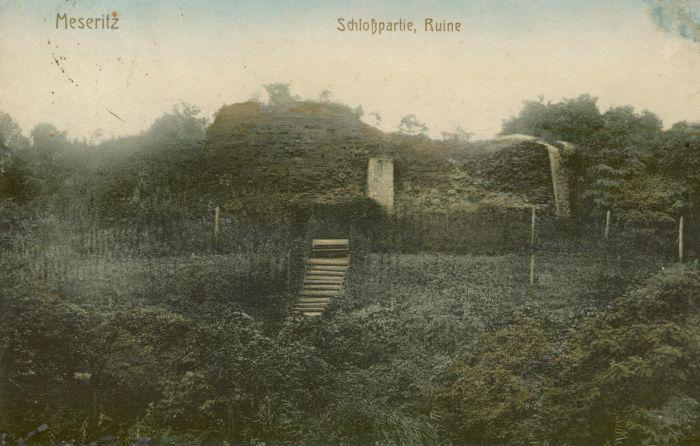 Międzyrzecz- ruiny zamku