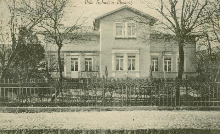 Międzyrzecz - willa Ruhleben