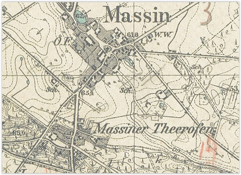 Mosina 1934, lubuskie