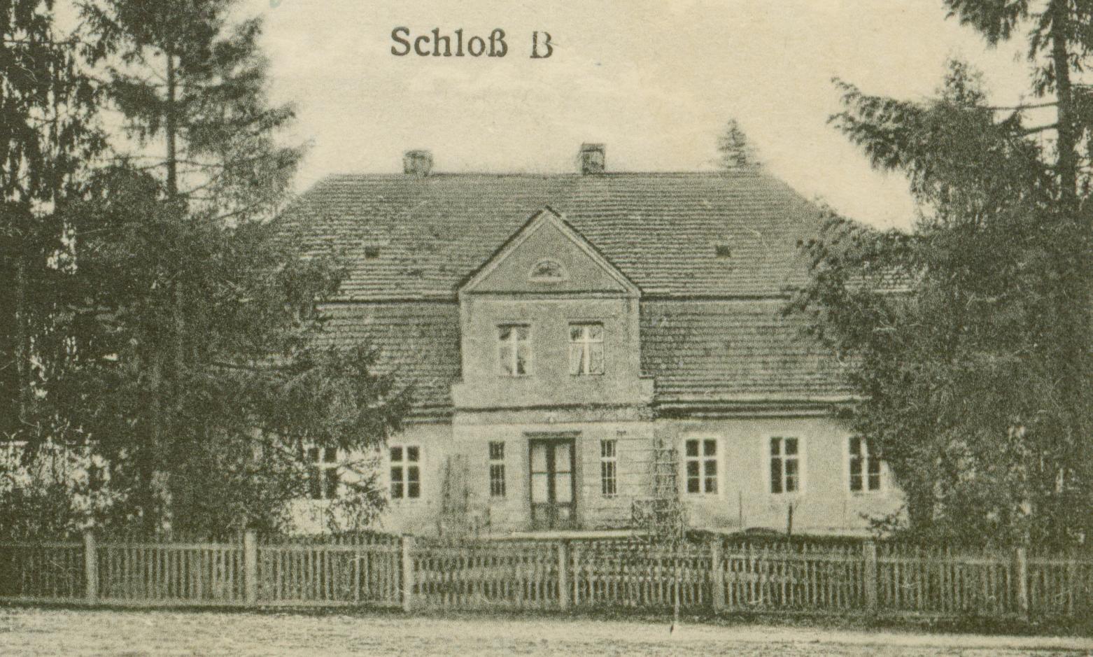 Niekarzyn- pałac B
