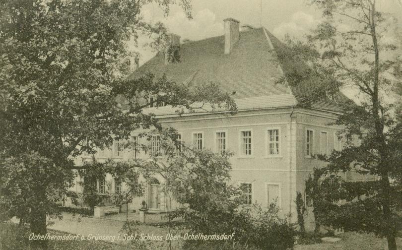 Ochla dwór barokowy