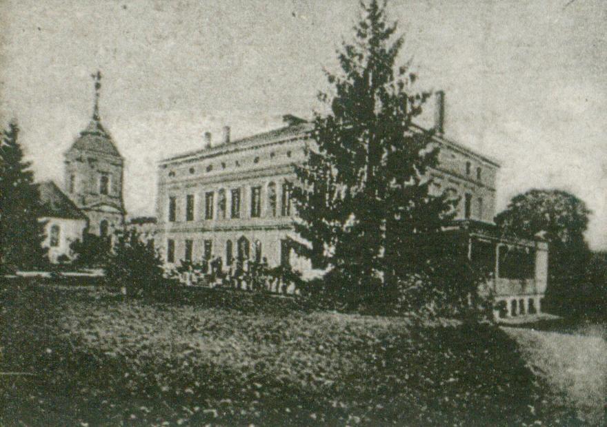Osiek-pałac