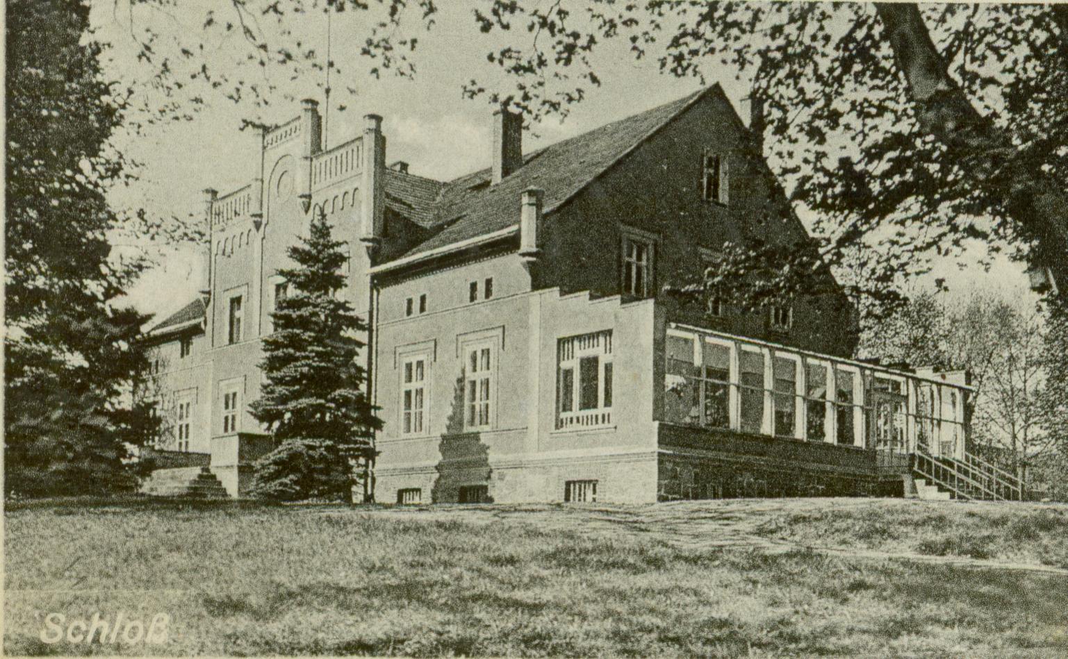 Rychlik- pałac, ok. Sulęcina