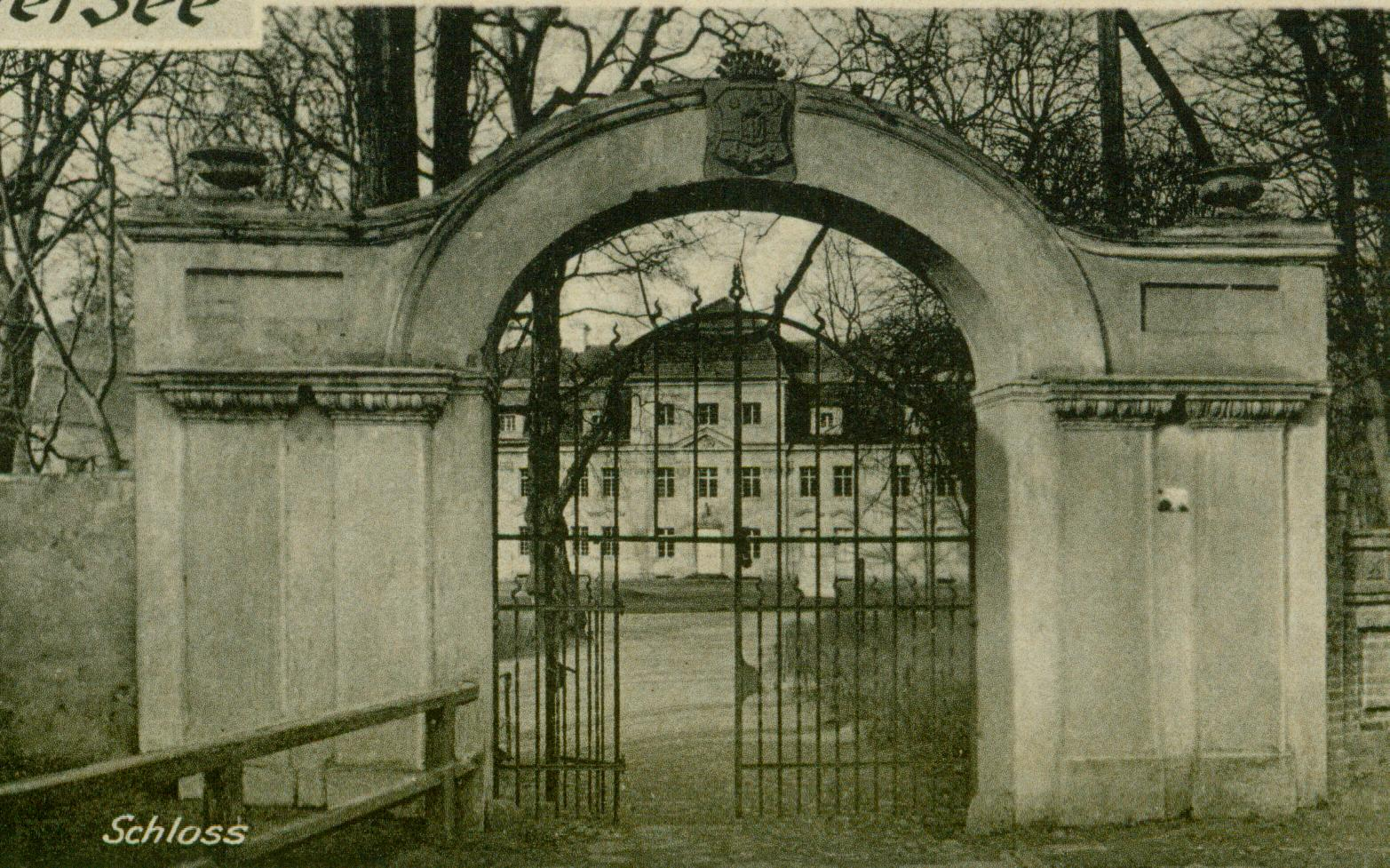 Sława-brama wjazdowa